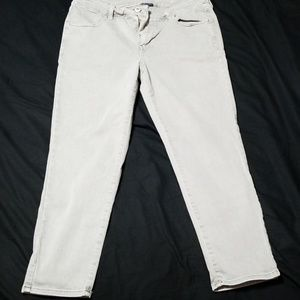 American eagle next level jeggings crop gray